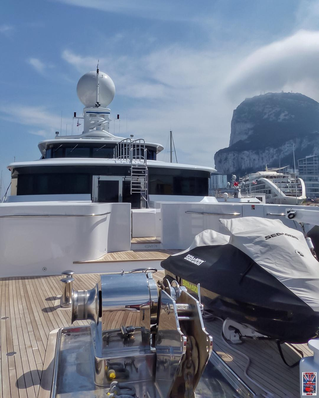 Foredeck Toy Storage onboard Double Down - Photo by Jarrad @ superyachts_gibraltar