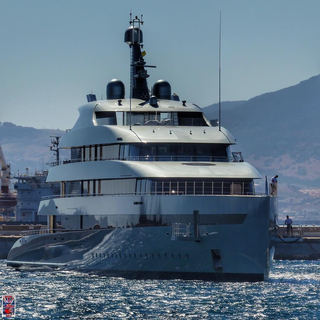 Photo by Jarrad @ superyachts_gibraltar